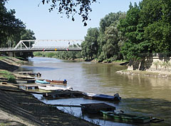 Petőfi Bridge of Győr over the Rába River - Győr, Hungary