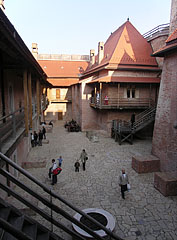 Castle courtyard - Gyula, Hungary
