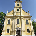 "The Roman Catholic St. Adalbert's Parish Church (""Szent Adalbert-plébániatemplom"") of Hatvan - Hatvan, Hungary"
