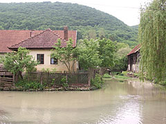 Here the Jósva Stream flows between houses - Jósvafő, Hungary
