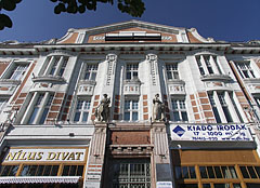 "The secession style ""Sajtóház"" (""House of the Press"") was originally the People's Bank building (""Népbank"") - Kecskemét, Hungary"