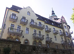 The east wing of the Palace Hotel building - Lillafüred, Hungary