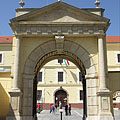 Stone gate of the Pauliner Monastry - Márianosztra, Hungary
