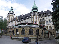 The neo-renaissance style Palace Hotel of Lillafüred - Miskolc, Hungary