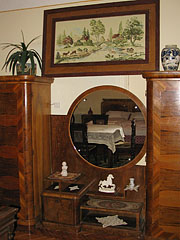 The furniture of the room No.5 in the Talizmán Pension - Miskolc, Hungary