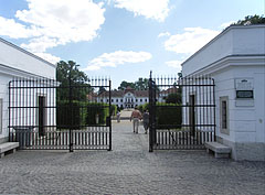 The entrance of the palace garden - Nagycenk, Hungary