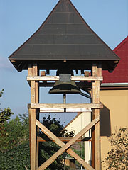 The free standing belfry of the Transfiguration of Our Lord Greek Catholic Church - Nyírbátor, Hungary