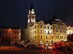 The City Hall by night - Pécs, Hungary
