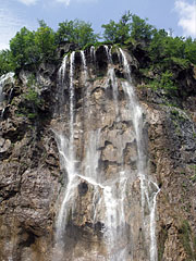 "Big Waterfall (""Veliki slap"") - Plitvice Lakes National Park, Croatia"