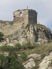 The Sirok Castle is built on a volcanic rock at 296 meters above the ocean level - Sirok, Hungary