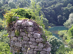 Ruins of the Castle of Slunj (in Latin Slovin, in Hungarian Szluin) - Slunj, Croatia