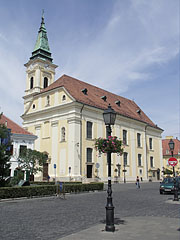 St. Emeric's Church (Szent Imre Church or sometimes called the Church of the Monks) and Franciscan friary - Székesfehérvár, Hungary