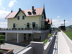 Train station and modern visitor center - Szentendre, Hungary