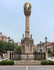 Holy Trinity Column to commemorate the plague epidemic of the year 1711 - Szombathely, Hungary