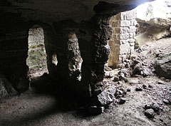 Monk Dwellings, a room in the rock - Tihany, Hungary