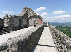 Wall remains of the inner castle - Visegrád, Hungary