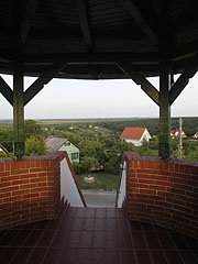 Inside the Kőhegy Lookout Tower - Zamárdi, Hungary