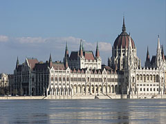 Building of the Hungarian Parliament (Országház) - ブダペスト, ハンガリー