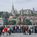 The downtown Danube bank at the main square of Budapest - ブダペスト, ハンガリー