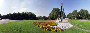 ××Margaret Island (Margit-sziget), The Centennial Memorial - ブダペスト, ハンガリー
