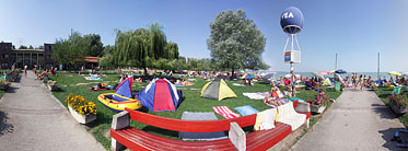 ××Lakeside of the Balaton, Wesselényi beach - Balatonalmádi, 헝가리