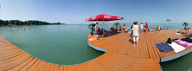 ××Lakeside of the Balaton, Beach - Siófok, 헝가리