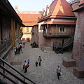 Castle courtyard - Gyula, Мађарска