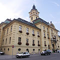 """The yellow-painted and green glazed roof tile-covered City Hall (in Hungarian """"Városháza"""") - Szeged, Мађарска"""